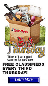 third thursday free classified promotion